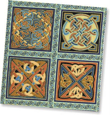 Celtic design Panel Fabric
