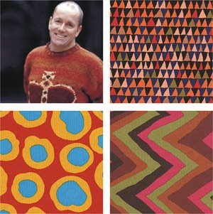 Brandon Mably Patchwork Fabrics
